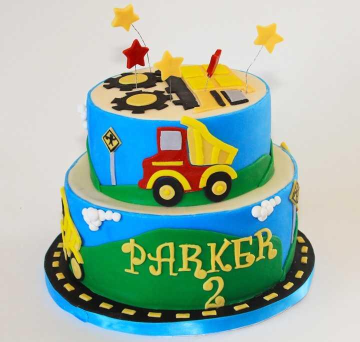 Narozeninový dort auto