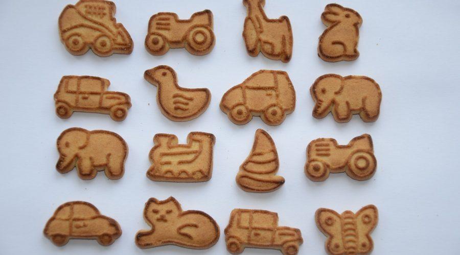 Špaldové sušenky s javorovým sirupem
