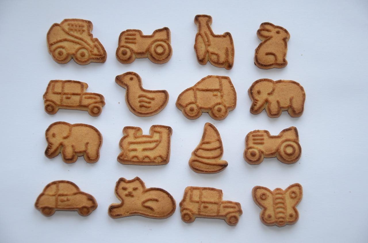 Špaldové sušenky pro děti
