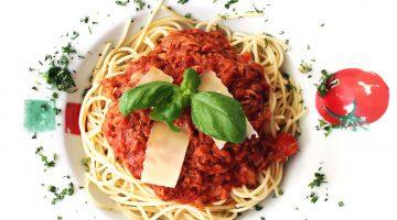 Boloňské špagety (špagety Bolognese) pro děti