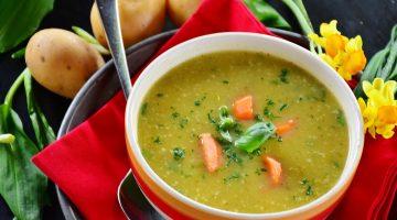 Pohanková zeleninová polévka