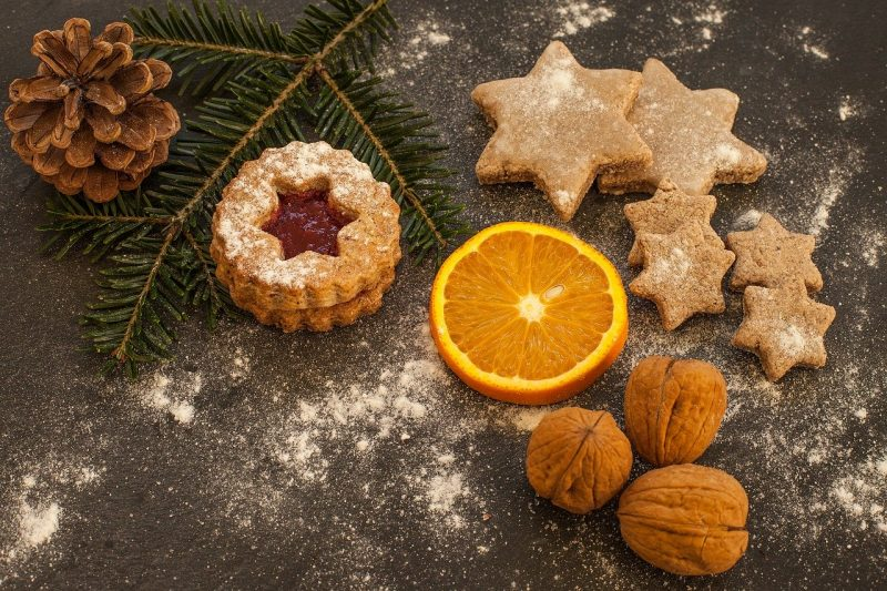 Mrkvové vánoční cukroví