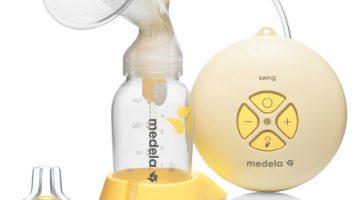 Medela Swing recenze elektrické odsavačky mléka