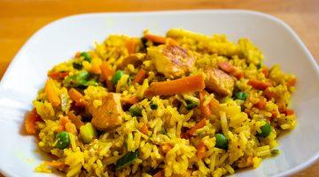 Kuřecí curry s rýží